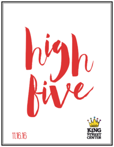 high five award announcement