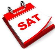 Saturday Calendar page