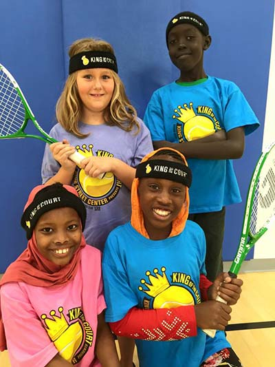 King Street Center Kids on the Ball Tennis program
