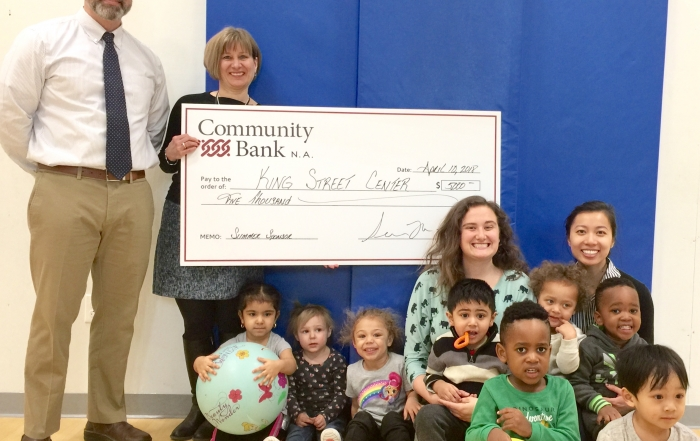 Community Bank Check Presentation