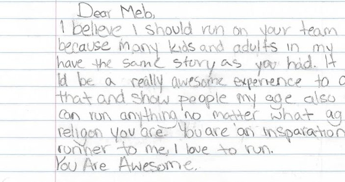 Letter to Meb